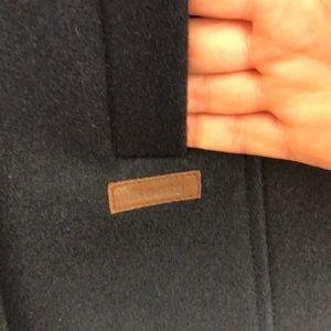 Roots 🇨🇦 Navy Wool Blend Pea Jacket